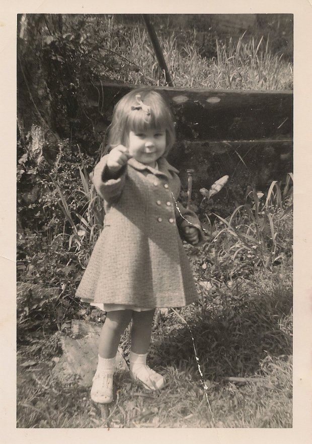 Lisa Nolan at age three